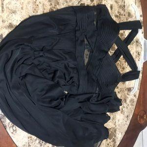 Betsy & Adam Dresses - Long black dress